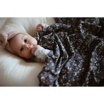 Couverture  bébé snap the moment 100% coton Bloom - snap the moment
