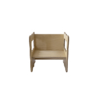 Chaise Cube Montessori Boogy Woody - assise bas