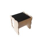 Chaise Cube Montessori Boogy Woody - ardoise