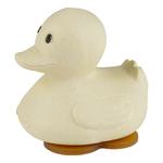 jouet de bain caoutchouc naturel hevea - canard hevea - sable