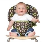 Totseat chocolate - siège nomade bébé