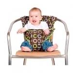 Totseat chocolate - Chaise de voyage bébé