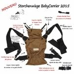 détail porte bebe babycarrier 2015 café storchenwiege
