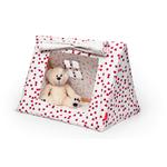 mini tente deuz rose avec peluche