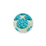 Tapis Fleur de Vie Shantimat truquoise