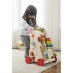 chariot de marche avec jeux - everearth - enfant