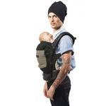 Porte-bébé JPMBB Tablier Noir poche Olive