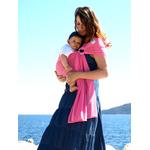 sukkiri - porte bébé sling - rose