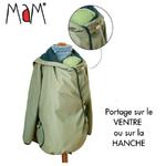 Manteau de portage déperlant MaM Motherhood Coat - olivine cristal