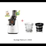 kuvgings 9500 et kit smoothie - blanc