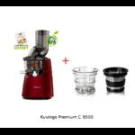 kuvgings 9500 et kit smoothie - rouge