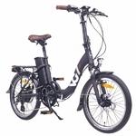 VAE Électrique VG LAVIL Noir - Vélo Pliant Léger