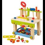 établi avec outil, jouet en bois everearth