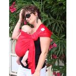 porte bébé sling sukkiri rouge