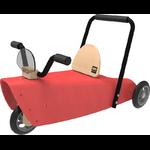 porteur moto chou du volant rouge