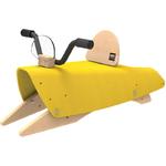 Bascule design jaune en Bois jouet pour Enfant