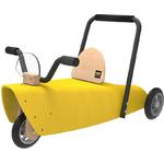 porteur moto chou du volant  jaune