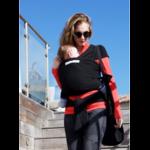 Echarpe de portage BASIC Presque Noir JPMBB ® Echarpe porte bébé