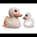 Jouet de Bain Kawan le canard et anneau de dentition hevea