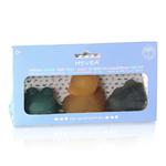 boites 3 jouets de bains colorés