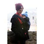 Porte-bébé Physiocarrier noir poche anthracite - JPMBB