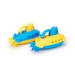 sous marin GReen toys - poignée bleu et jaune