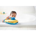 sous marin GReen toys - poignée bleu jouet pour le bain