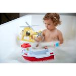 Bateau de sauvetage et hélicoptère enfant