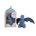 contes de fées  Dragon de nuit avec des ailes bleues Tikiri