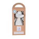 tikiri peluche éléphant collection coton biologique- boite