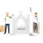 Gigi 96 XL White - blocs de construction - chateau