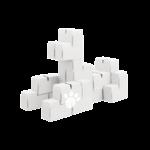 Gigi 30 XL blànc - blocs de construction