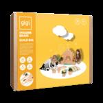 Gigi créatif 30 blocs de construction XL - boite fille