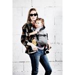 porte bébé hoodie Carrier flanelle Love Radius