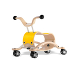 Trotteur Wishbone Mini Flip - Base de course jaune