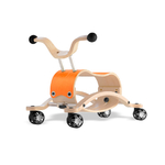 Trotteur Wishbone Mini Flip - Base de course orange