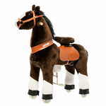 ponycycle chocolat cheval