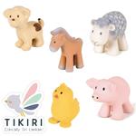 joueet de bain tikiri - mon premier animal de la ferme