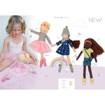 character dolls 40 cm - hoppa