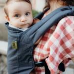porte-bébé boba 4gs midnight - coton bio