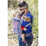 Porte-bébé  love radius physiocarrier gris - JPMBB