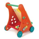 Chariot de marche et dactivités tender leaf toys en bois