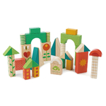 29 blocs colorés tender leaf toys
