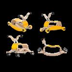 Wishbone Mini Flip Deluxe - jaune