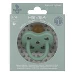 Tétine physiologique pistache - canard - Hevea planet - caoutchouc naturel