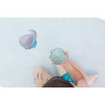 Ingolf la baleine et Dagmar la tortue  coffret jouet de bain Hevea