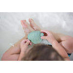 Dagmar la tortue  coffret cadeau de bain Hevea