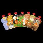 Pack de 7 squiz Carnaval - gourdes réutilisables