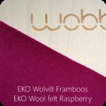 Wobbel Transparent Raspberry
