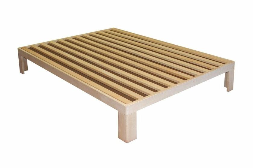 sommier en bois polaris longueur 200. Black Bedroom Furniture Sets. Home Design Ideas